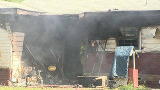 Investigators looking into what caused North Side house fire