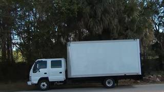Does a 'No Thru Truck' sign apply to pickup trucks?