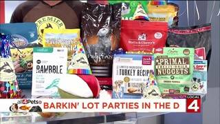 Barkin' lot parties in the D