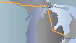 Official says Michigan's Line 5 pipeline doesn't pose high