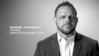 U.S. Marine Corps Corporal Shane Johnson shares his story
