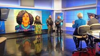 Grammy nominated reggae artist Etana live on The Morning Show