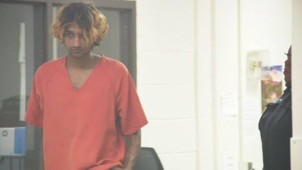 Wahaj Ahmed Usama in court