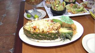 Big plates and big flavors served in local seafood restaurant