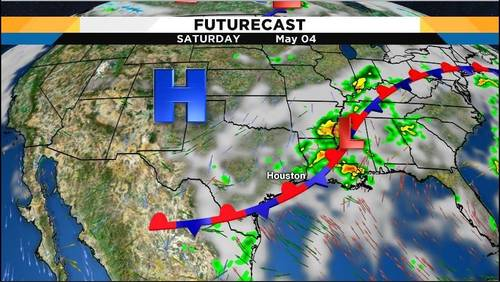Houston area to dry out after overnight storms