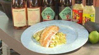 H-E-B Backyard Kitchen: Seared Snapper with Chilito's Salsa Cruda