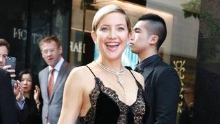 Pregnant Kate Hudson Shows Off Her Burgeoning Baby Bump in a Red Bikini -- Pic!