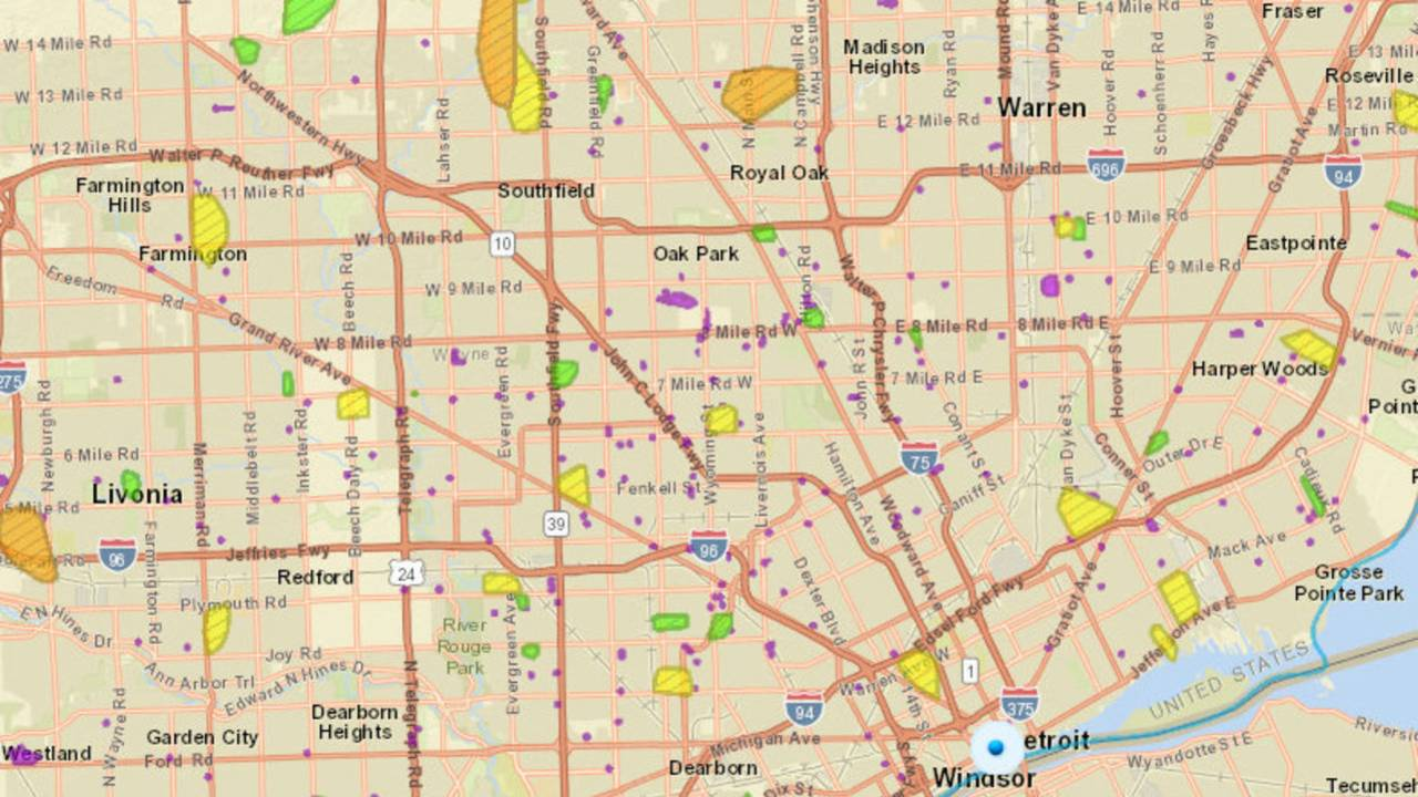 Dte Energy Outage Map Here S How To Check It