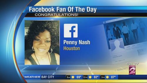 Tuesday's Facebook Fan of the Day!
