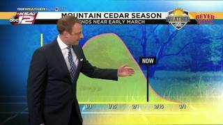 Weather 101: Mountain Cedar Season