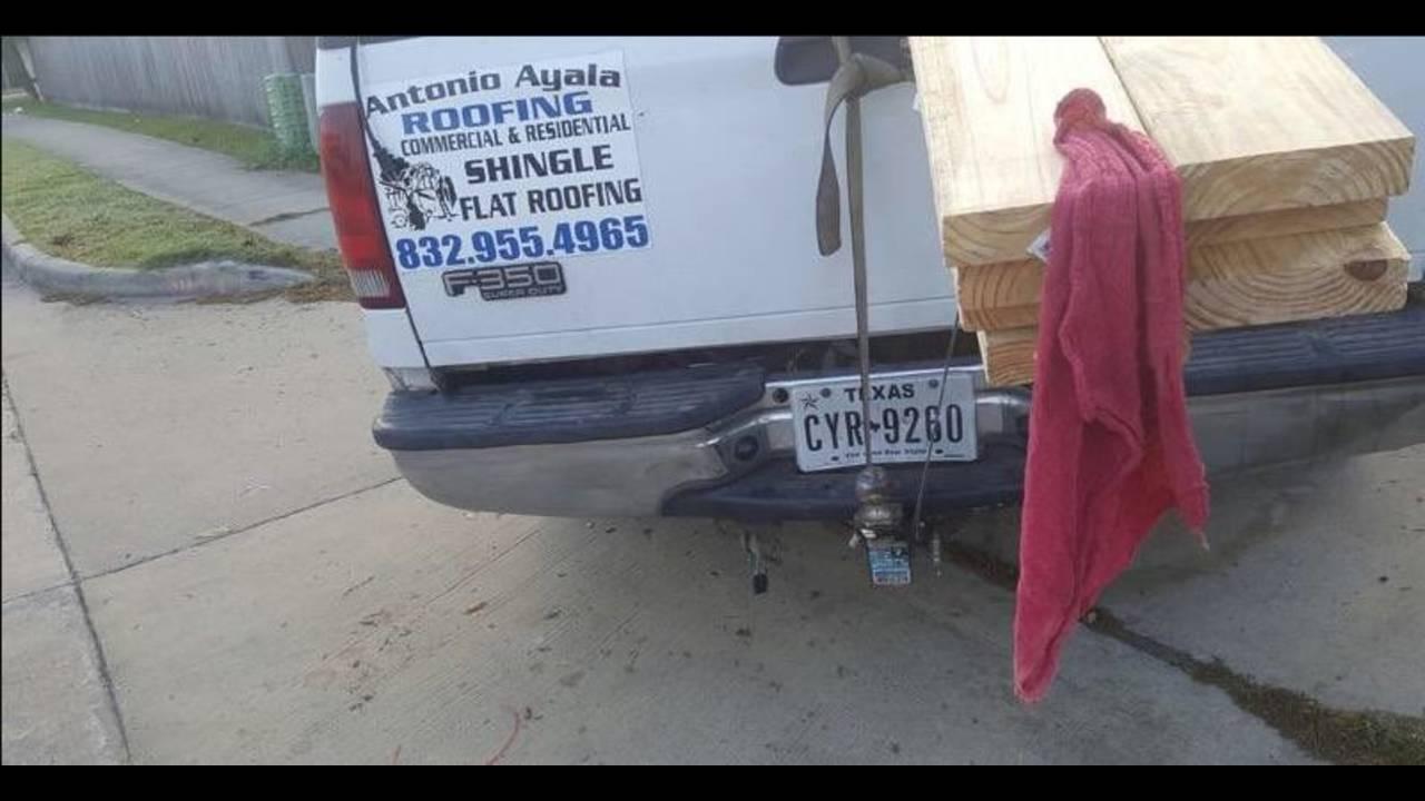 Truck in Sherwood killing_1493032573870.JPG