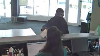 Man covering portion of face robs TD Bank branch in North Miami Beach