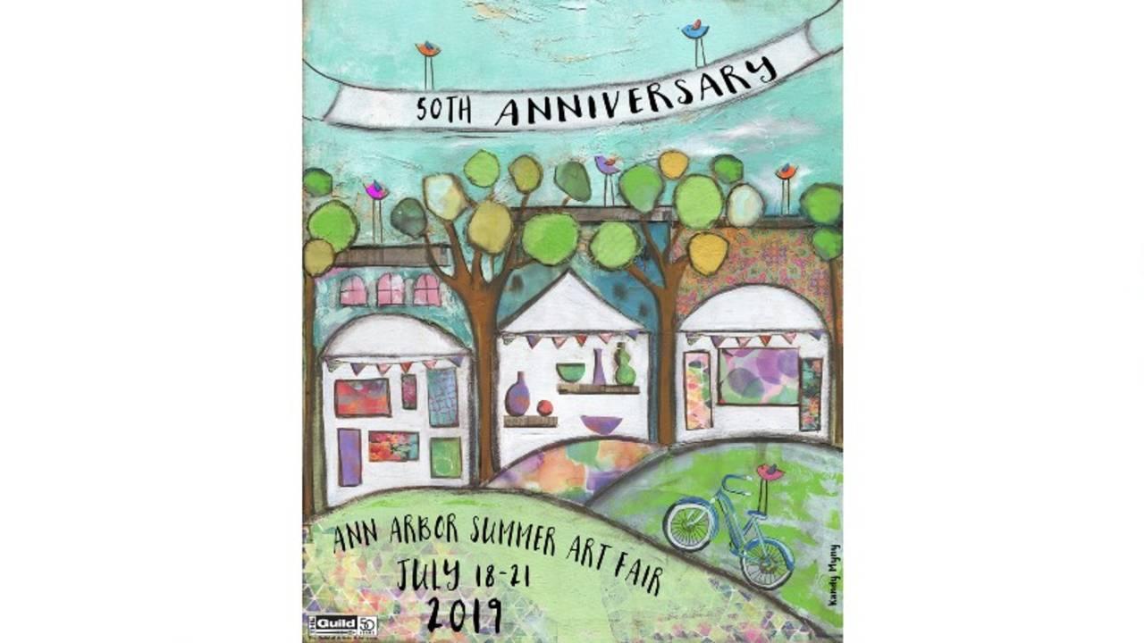 Kandy Myny Ann Arbor Art Fair