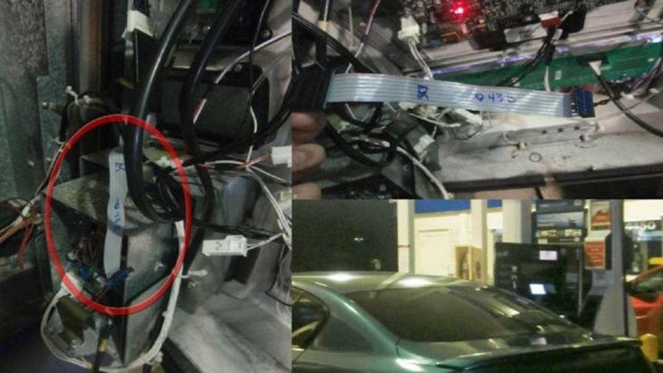 gas station skimmers found in Davie
