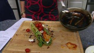 Daytime Kitchen: Grilled Romaine Salad With Frankie Rowland's Steakhouse