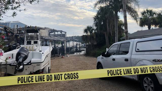 Boat shop destroyed by fire