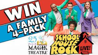 Win a Family 4-Pack to see Schoolhouse Rock Live!
