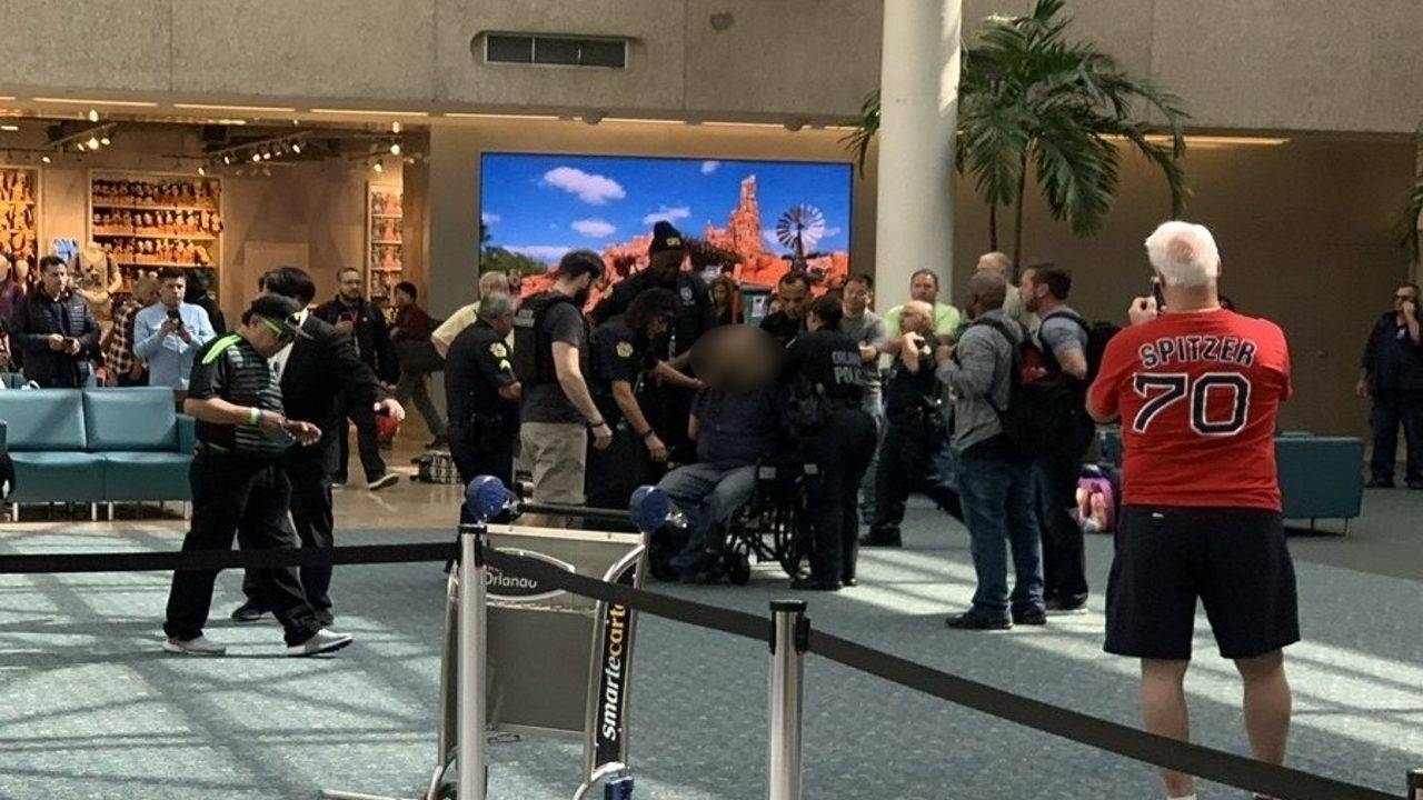 Attempted Security Breach Causes Chaos At Orlando