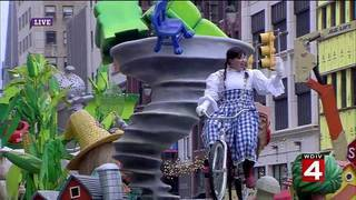 WDIV's Wizard of Oz float at America's Thanksgiving Parade