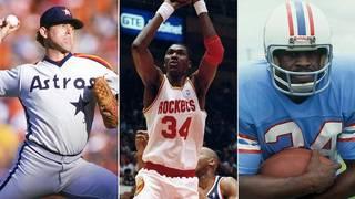 Houston Sports Hall of Fame inaugural class: Earl Campbell, Nolan Ryan &&hellip&#x3b;