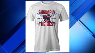'Shrimply the best' T-shirt design wins Jumbo Shrimp contest