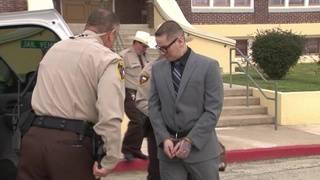 Bloody beatings, death threats marred cop killer's marriage, ex-wife testifies