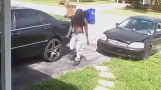 Shirtless thief steals AK-47 gun parts from Deerfield Beach home