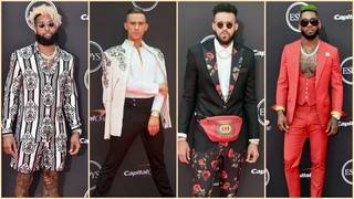 The Best and Boldest Men&#039&#x3b;s Fashion on the 2018 ESPYs Red Carpet
