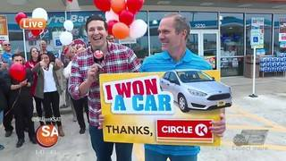 Win a FREE CAR at Circle K