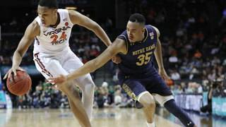 Virginia Tech blows 21-point lead, falls to Notre Dame in ACC Tournament