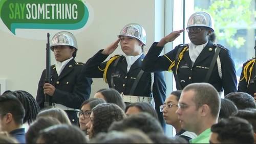 HISD students hold ceremony to honor lives lost, remember 9/11