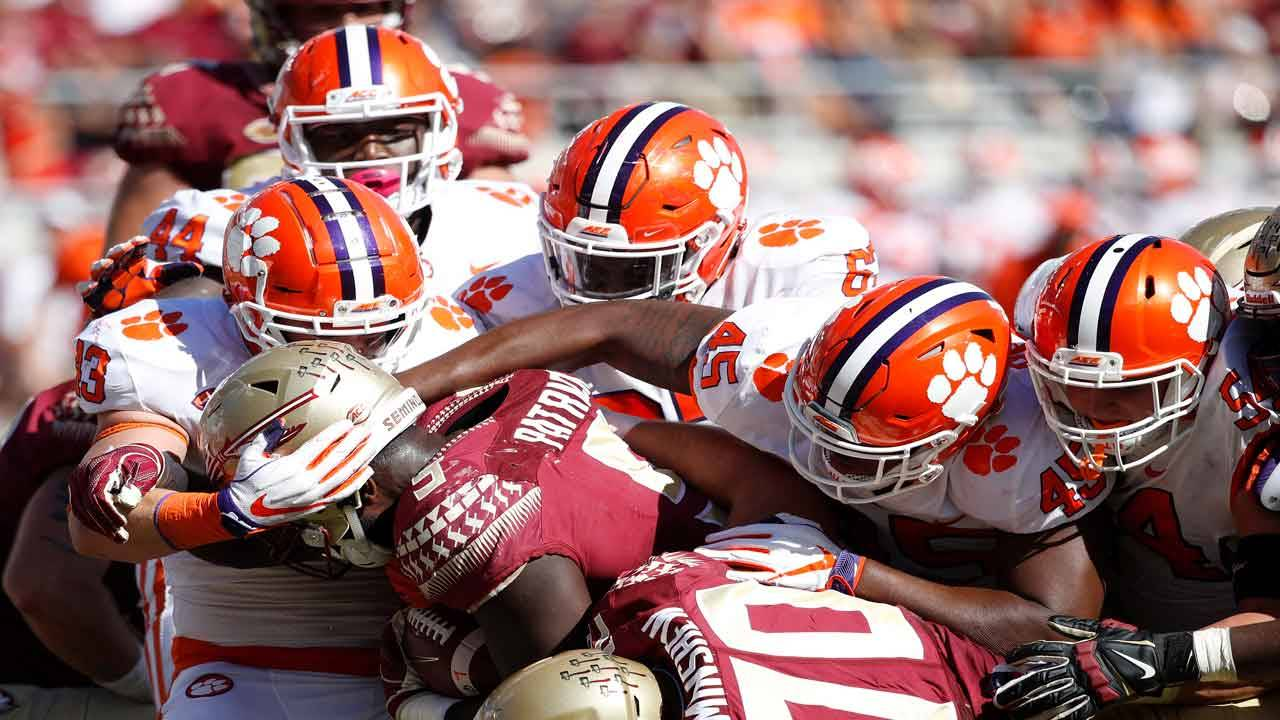 Clemson Tigers vs Florida State Seminoles in 2018