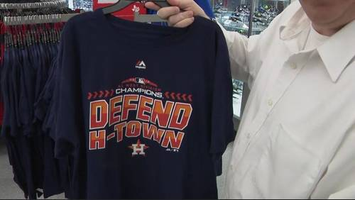 Defend H-town: Astros' fans can rep postseason with new merch