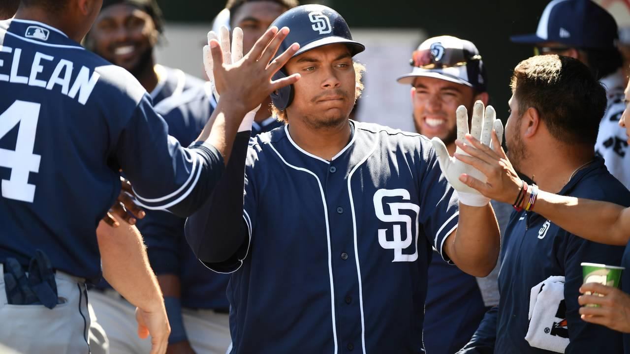 Josh Naylor San Diego Padres spring training 2019