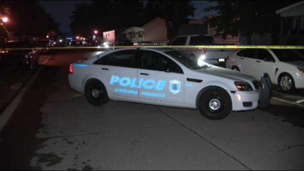 Sterling Heights officer involved shooting