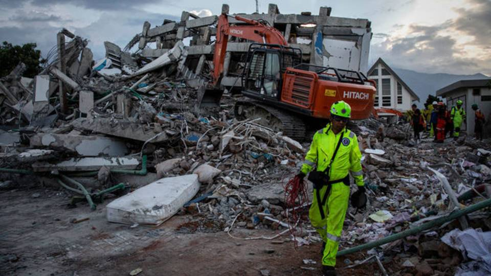 Helping Indonesias after tragedy