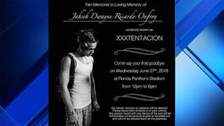 Memorial set at BB&T Center for slain rapper XXXTentacion