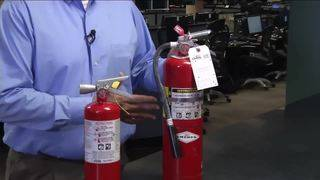 Consumer Reports: Familiarize yourself with fire extinguisher, how to use it