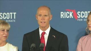 Florida Gov. Scott won't resign early to join US Senate
