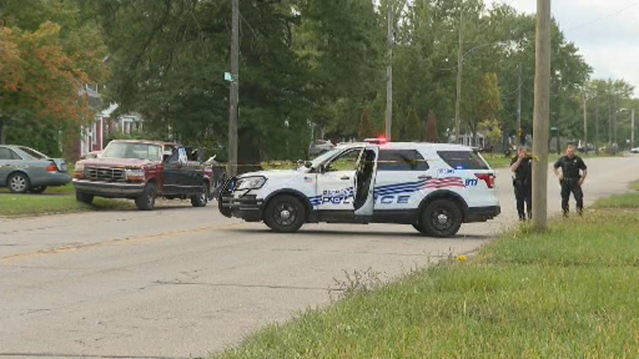 9-year-old boy and mother hit by truck Detroit scene