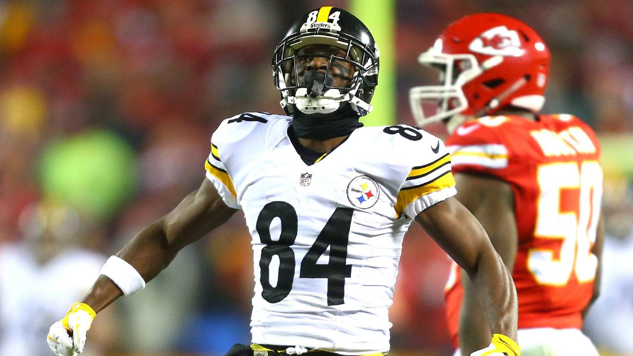 Antonio Brown, AFC divisional playoff game20212129-75042528