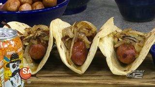 RECIPE: Mexican Beer Cheese and Bratwurst Tacos - OCTUBREFEST TONIGHT!