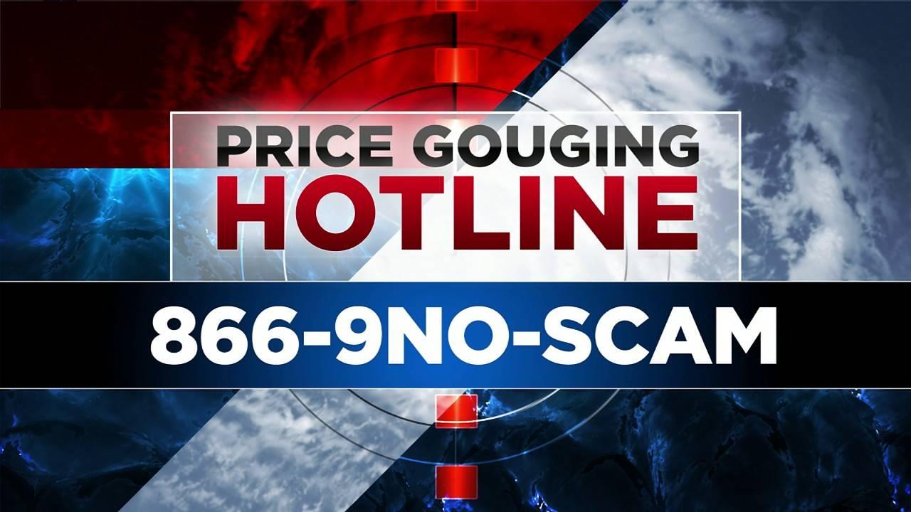 Price Gouging Hotline