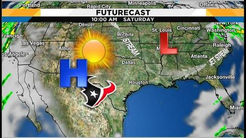 Beautiful weekend but expect some fog