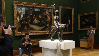 500-year-old sculptures confirmed as Michelangelo's only surviving bronzes