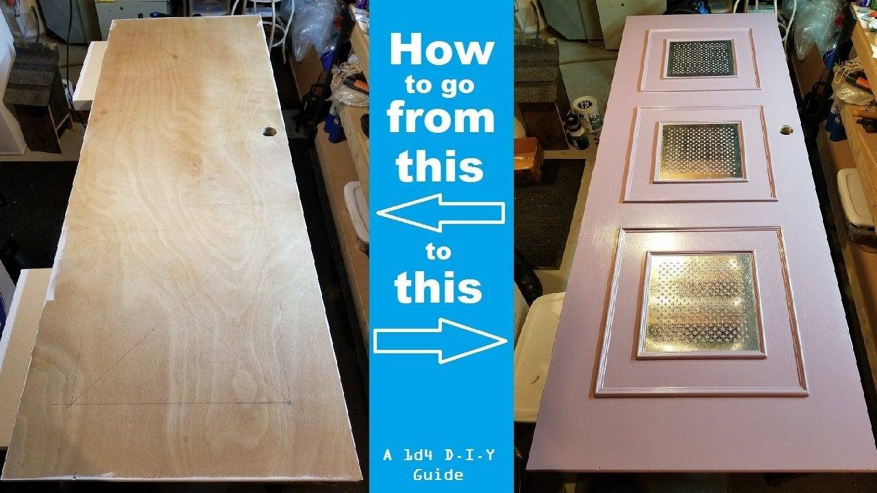 How to turn a cheap door into snazzy home decor