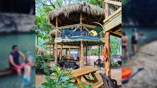 Two-story cabanas available for rent at new tubing spot along San Marcos River