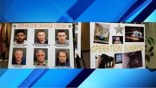 OCSO announces results of sex sting, crime prevention operations