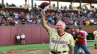 Florida State baseball coach Mike Martin gets all-time wins record