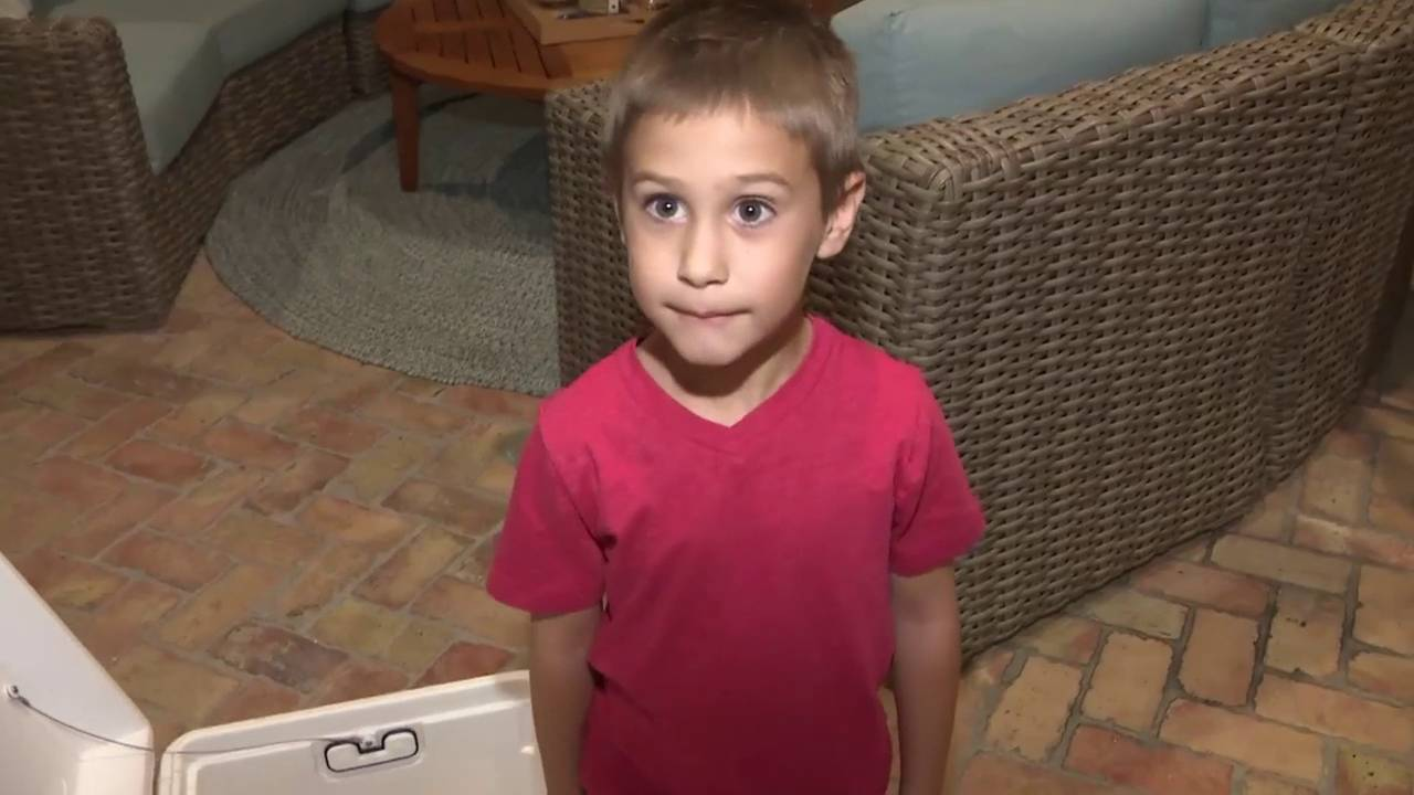 Nicholas Wanes, 5-year-old boy who was trapped in cooler